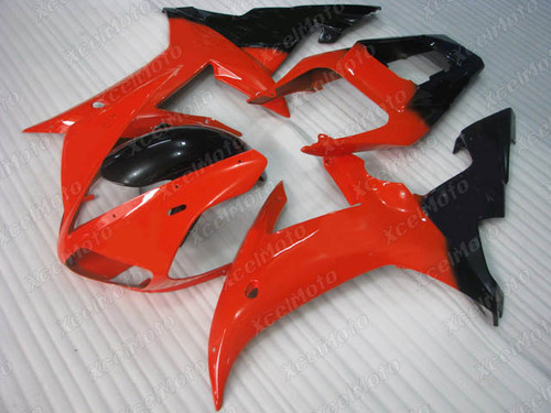 2002 2003 YAMAHA R1 red and black fairing