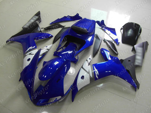 2002 2003 YAMAHA R1 blue and black fairing