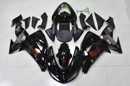 2004 2005 Kawasaki ZX10R gloss black fairing monster graphic