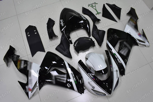 2004 2005 Kawasaki ZX10R monster fairing white and black