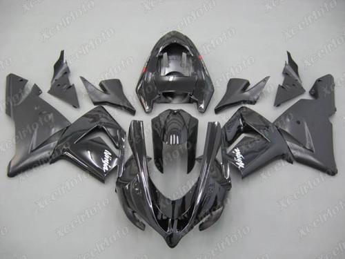 2004 2005 Kawasaki ZX10R black fairing