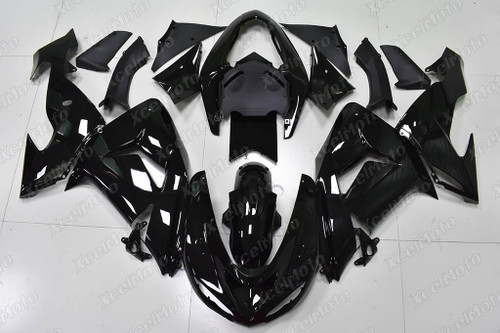 2004 2005 Kawasaki ZX10R gloss black fairing