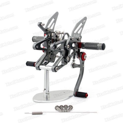 Motorcycle Rear Sets Assembly for 2010 2011 2012 2013 2014 BMW S1000RR, BMW S1000RR original rear sets replacement.