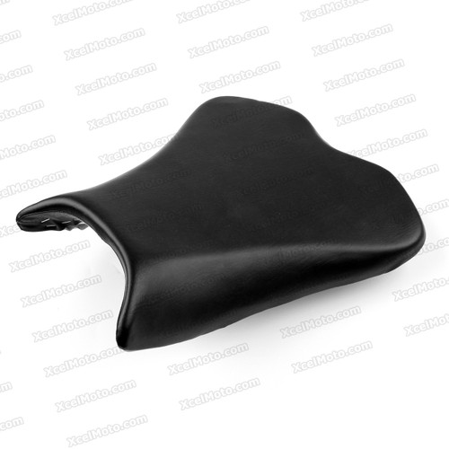 Motorcycle Seat for 2009 to 2015 Kawasaki Ninja ZX-6R, Front / Rider Seat Leather Cushion.