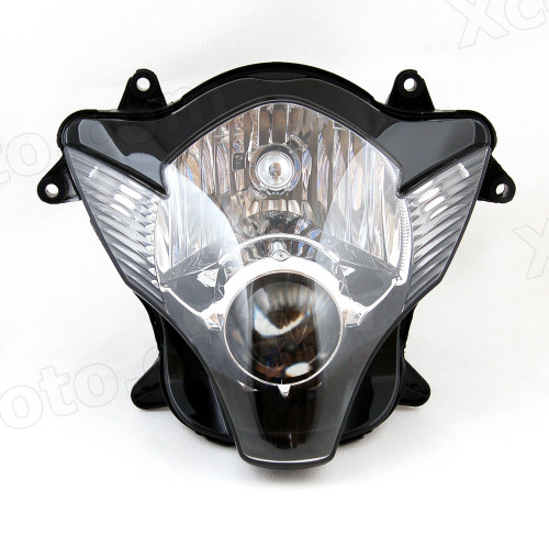 Motorcycle headlight/headlamp assembly kit for 2006 2007 Suzuki GSX-R 600/750.
