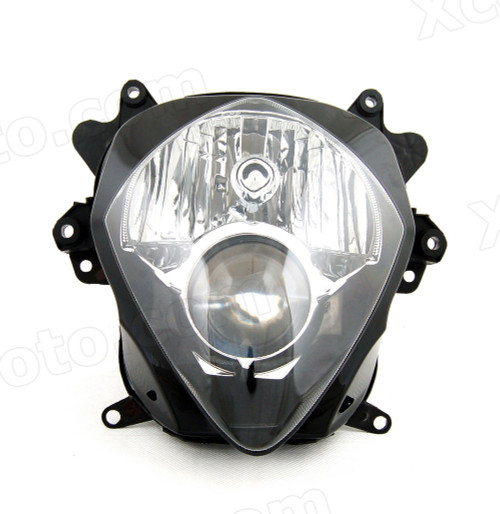 Motorcycle headlight/headlamp assembly kit for 2007 2008 Suzuki GSX-R 1000.