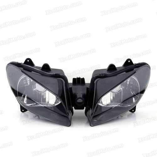 Motorcycle headlight/headlamp assembly kit for 2000 2001 Yamaha YZF-R1.