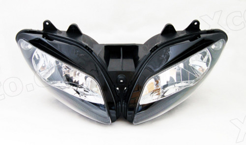 Motorcycle headlight/headlamp assembly kit for 2002 2003 Yamaha YZF-R1.