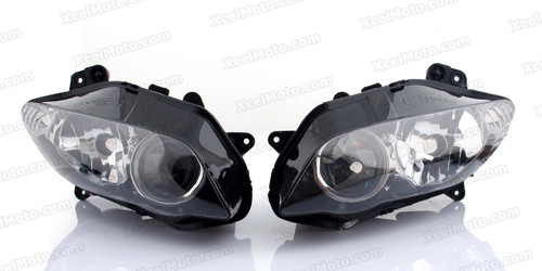 Motorcycle headlight/headlamp assembly kit for 2004 2005 2006 Yamaha YZF-R1.