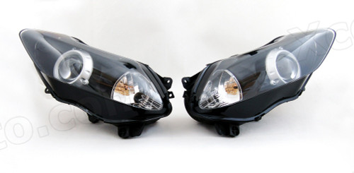 Motorcycle headlight/headlamp assembly kit for 2007 2008 Yamaha YZF-R1.