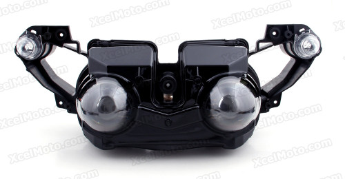 Motorcycle headlight/headlamp assembly kit for 2009 2010 2011 Yamaha YZF-R1.