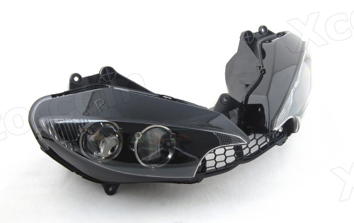 Motorcycle headlight/headlamp assembly kit for 2003 2004 2005 Yamaha YZF-R6.
