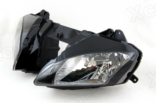 Motorcycle headlight/headlamp assembly kit for 2006 2007 Yamaha YZF-R6.