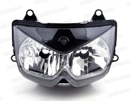 Motorcycle headlight/headlamp assembly kit for 2008 2009 2010 2011 2012 Kawasaki Ninja 250R EX250.