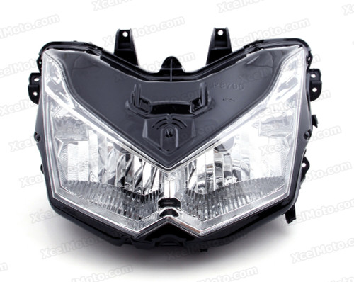 Motorcycle headlight/headlamp assembly kit for 2007 2008 2009 Kawasaki Z1000.