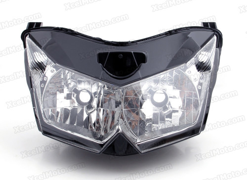 Motorcycle headlight/headlamp assembly kit for 2010 2011 2012 2013 Kawasaki Z1000.
