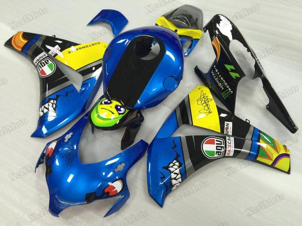 2008 2009 2010 2011 Honda CBR1000RR Fireblade Shark fairings and body kits, Honda CBR1000RR Fireblade OEM replacement fairings and bodywork.