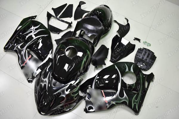 Suzuki Hayabusa GSXR1300 gloss black fairing