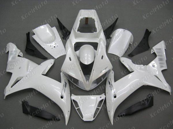 2002 2003 YAMAHA R1 pearl white fairing