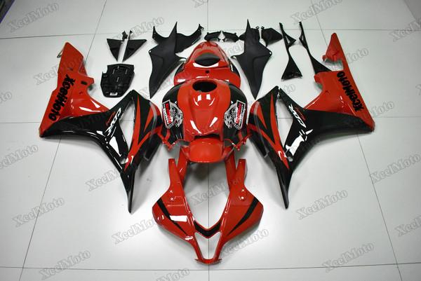 Honda CBR600RR 2007 2008 OEM Fairings red and black