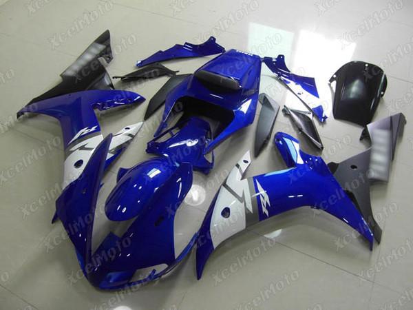 2002 2003 YAMAHA R1 blue and black fairing