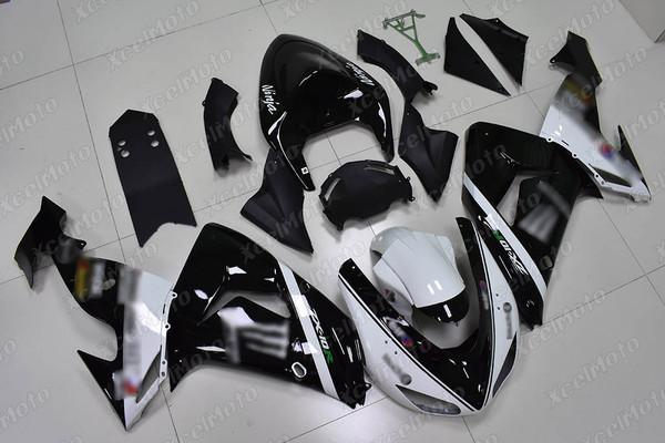 2004 2005 Kawasaki ZX10R monster fairing white and black