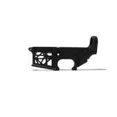 AR-15 SKELETON LOWER RECEIVER - BLACK ANODIZE
