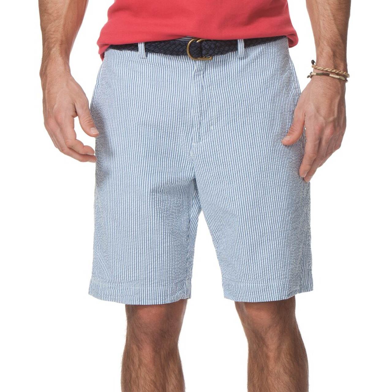 Chaps Striped Seersucker Shorts Men