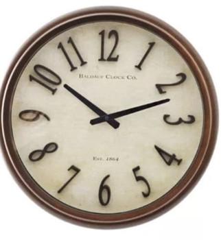 Allen Roth Analog Round Indoor Wall Clock