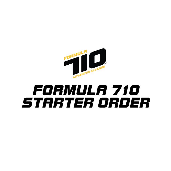 Formula 710 Starter Order