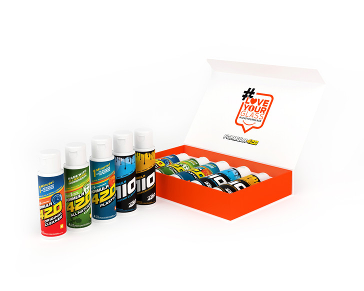 Formula 420 & Formula 710 Products - Limited Edition Magnet Box Set - 5-Pack of Cleaners - 4oz (MASTER CASE)