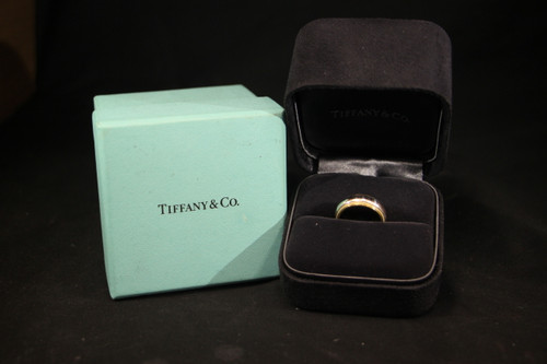 Tiffany & Co 18K Gold and Platinum Ring