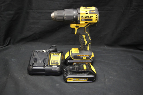 "Dewalt Atomic 20v max lithium ion 1/2"" hammer drill driver kit"