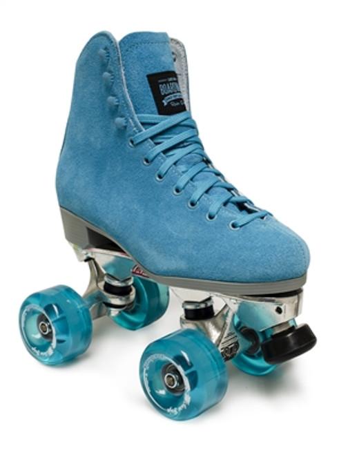 Sure-Grip SG-1 Park Quad Roller Skate Wheels 93A 57mm Blue Green