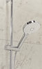 Event round single function shower system   • Single function thermostatic shower valve  • Wave adjustable riser rail  • Single function shower handset  • Brass shower hose, wall elbow & valve cover plate   SVSET20  order in store or online today @ www.tuscanytiles.co.uk