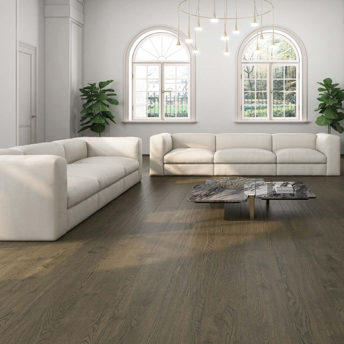 Tuscany Ka Noc Porcelain Wood Tile 22,5x180  Exclusive Board Length