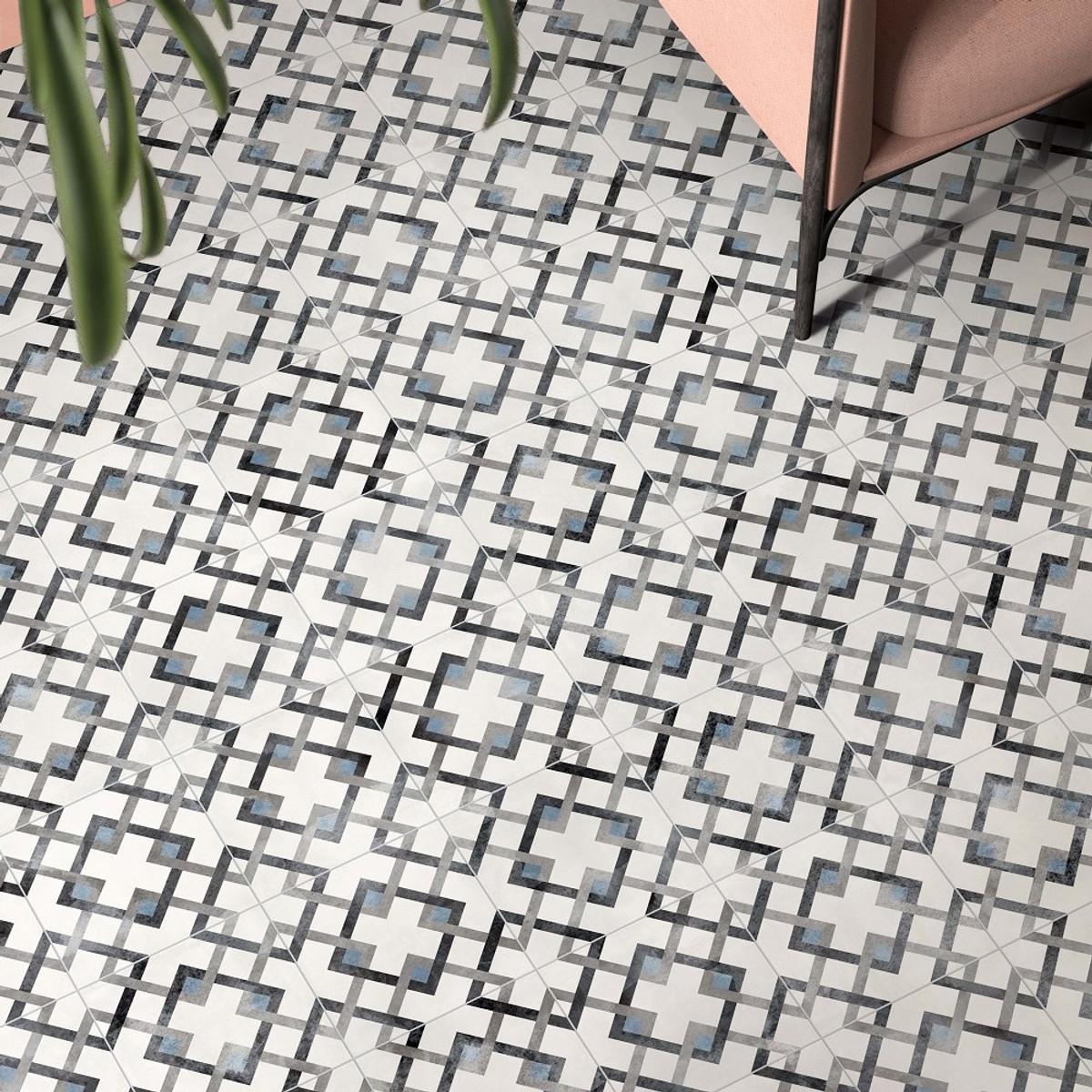 Play Classic Sky 20x20 Pattern Floor Tile