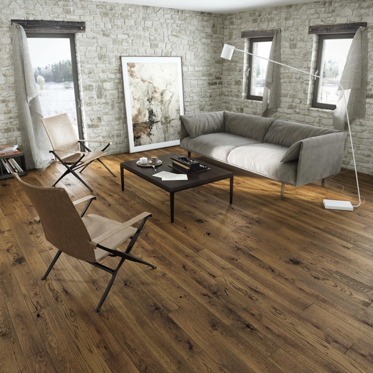 Tuscany Country Walnut Click Engineered Wood Flooring