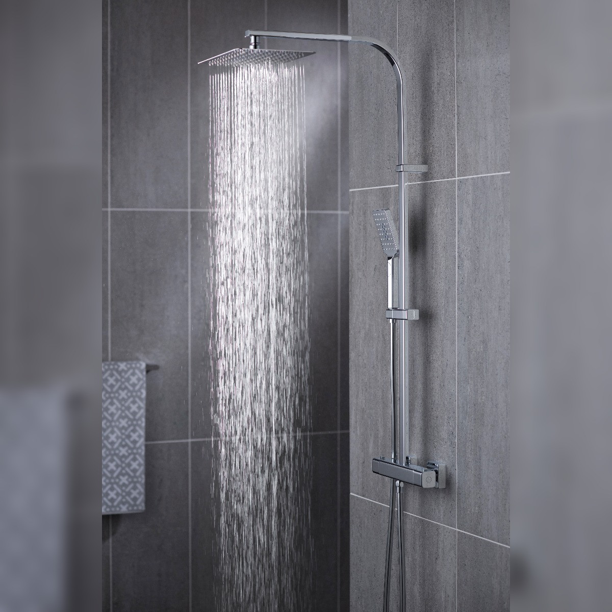 Phase Thermostatic Shower Column