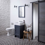 Hampton 400 Cloakroom Basin Unit