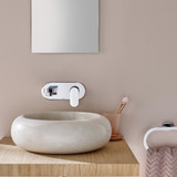 Life Wall Mounted Basin Mixer