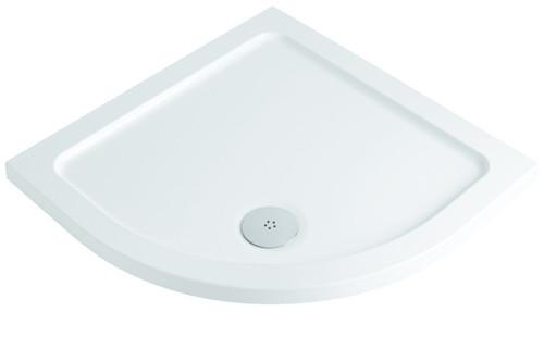 900 Stone Based Resin Quadrant Shower Tray