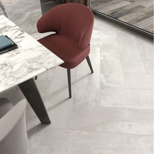 Interno 9 Perla 30x120 herringbone floor Tile