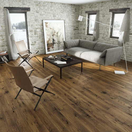 Tuscany Country Walnut Click Engineered Wood Flooring
