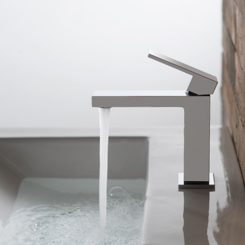Notion Slimline Mono Basin Mixer with Universal Waste
