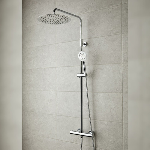 Aquablade Round Shower Column
