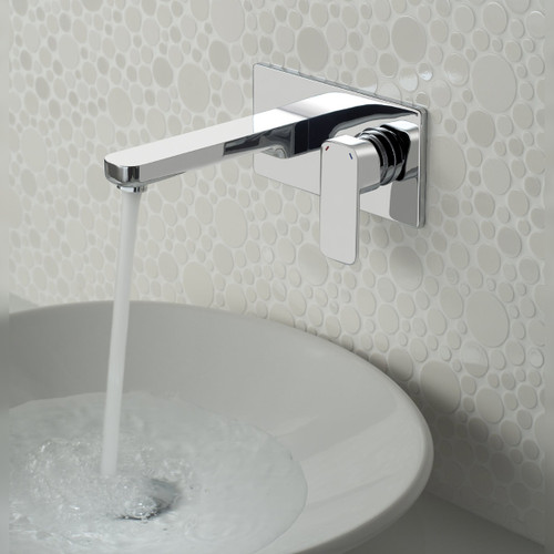 Phase Wall Mounted Basin Mixer