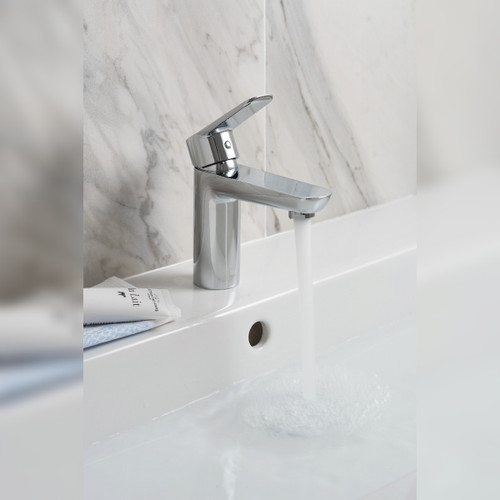 Photon Mono Basin Mixer with Universal Waste