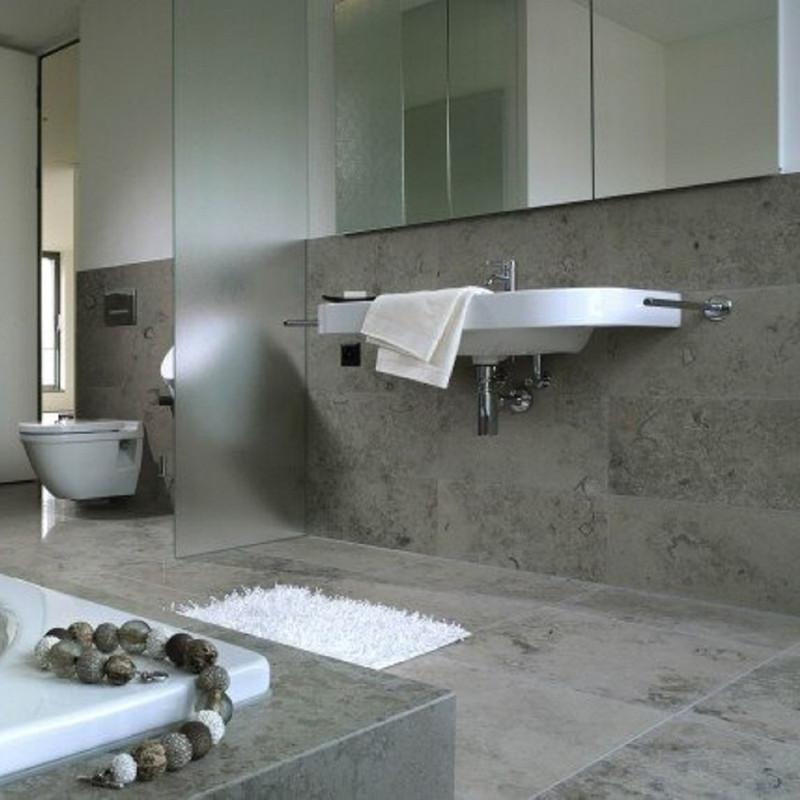 Jura Limestone Grey 40x80 Honed, Bathroom Wall and Floor