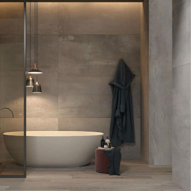 Interno 9 bathroom wall and floor tile